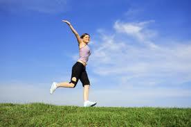 courir pour etre heureux
