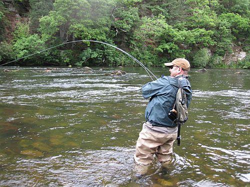 Sur la pêche avec les femmes aimées